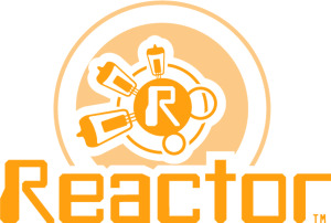 reactor logo all orange copy
